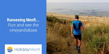 Runseeing Menfi... Run and see the vineyards & sea