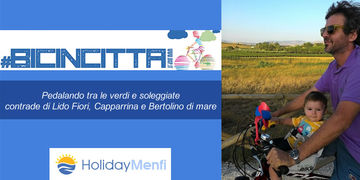 Bicincittà 2018: pedalando tra le verdi e soleggiate contrade di Lido Fiori, Capparrina e Bertolino di mare a Menfi