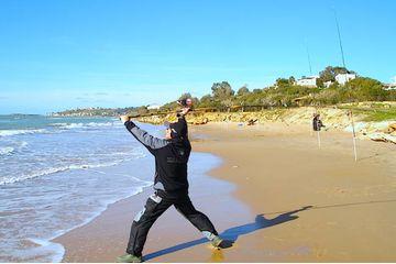 Surf-Casting: la pesca dalla spiaggia a Menfi