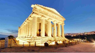 Visite notture alla Valle dei Templi di Agrigento